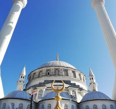 Abdurrahmangazi Camii Minare Boyası