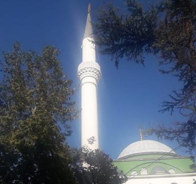 Kılavuzlar Camii Minare Boyası