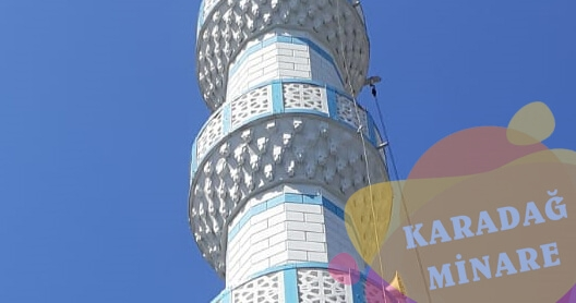 Yenidogan Dis Cephe Cami Minare Boya Ustasi