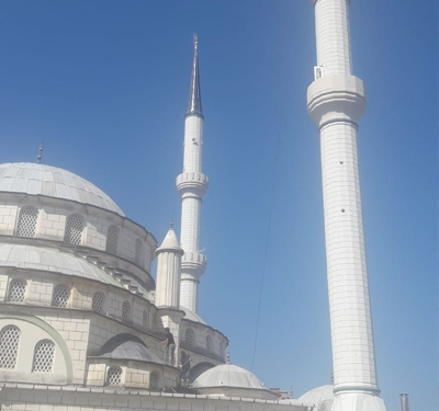 Zümrütevler Camii Minare Tadilat